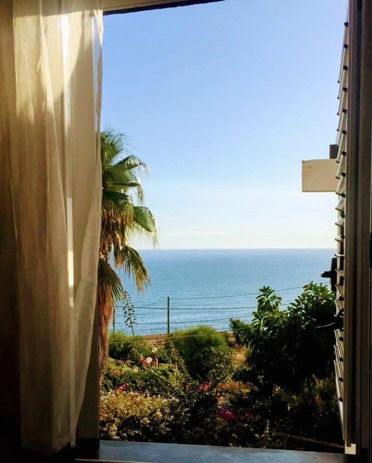 Ocean view from the window