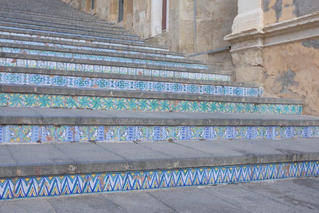 Stairway calinata di Santa in Caltagirone