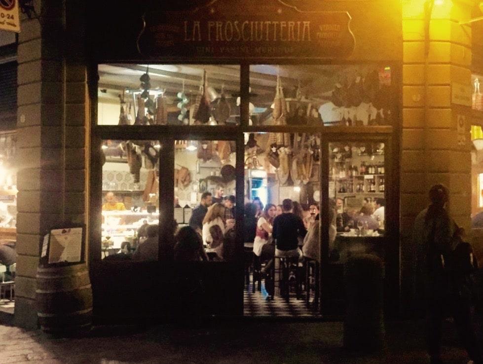La Prosciutteria Bologna