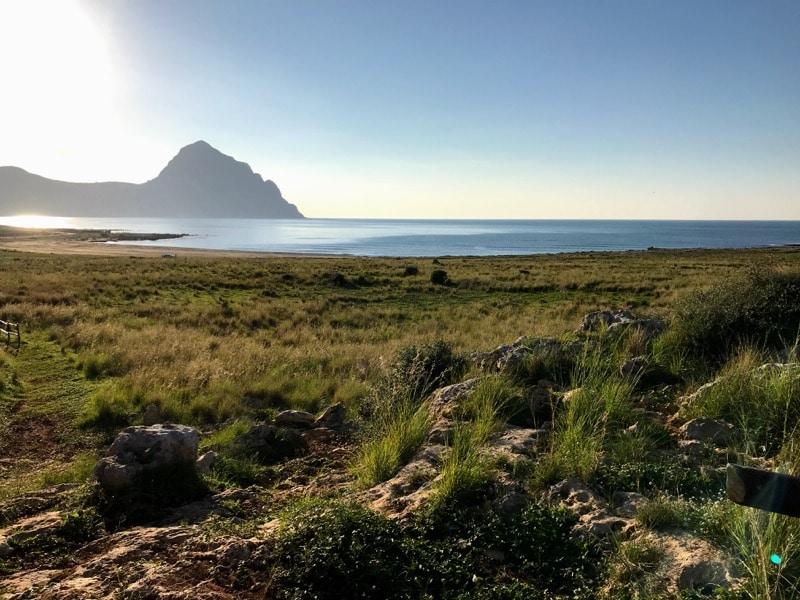 Beach Macari Sicily