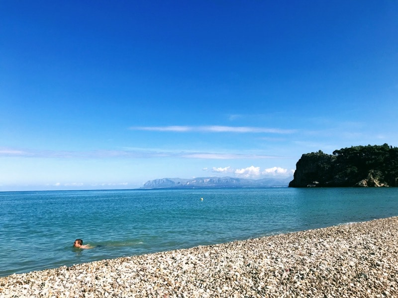 Scopello beach