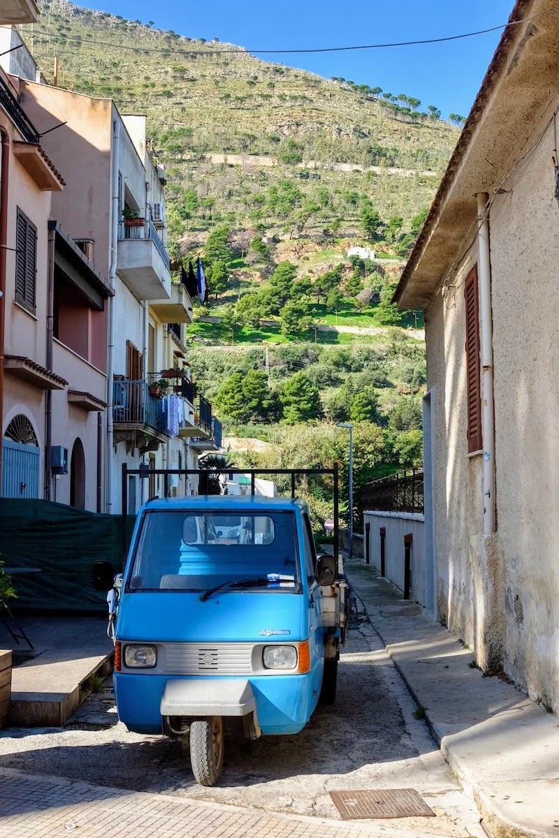 Truck in Castellammare
