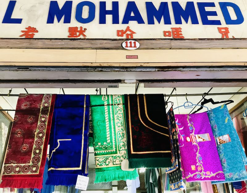 Colourful scarfs in Penang