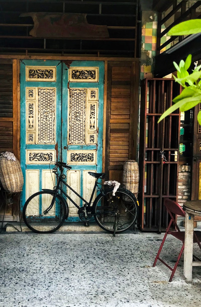 Bicycle in George Town Penang