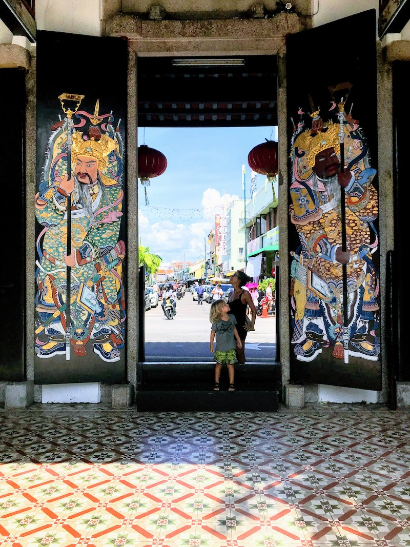Chinese tempel in Penang