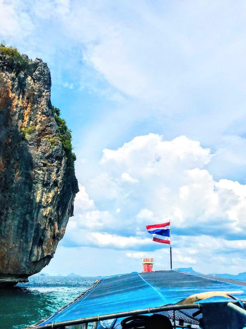 Longtail boat and dive tour in Ao NAng