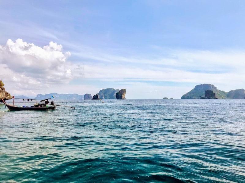 Diving off Ao Nang in the Andaman Sea