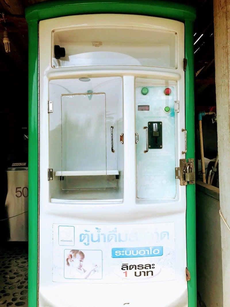 Water refill station on Koh Lanta