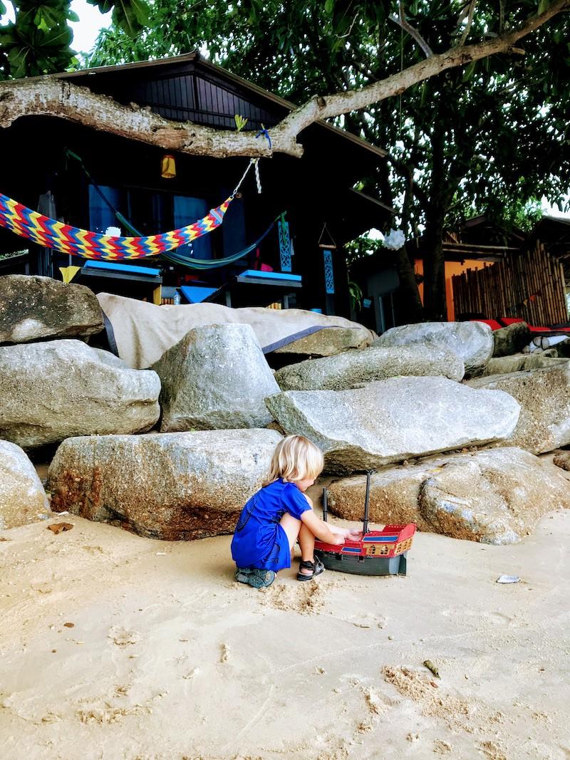 Silent beach Koh Samui