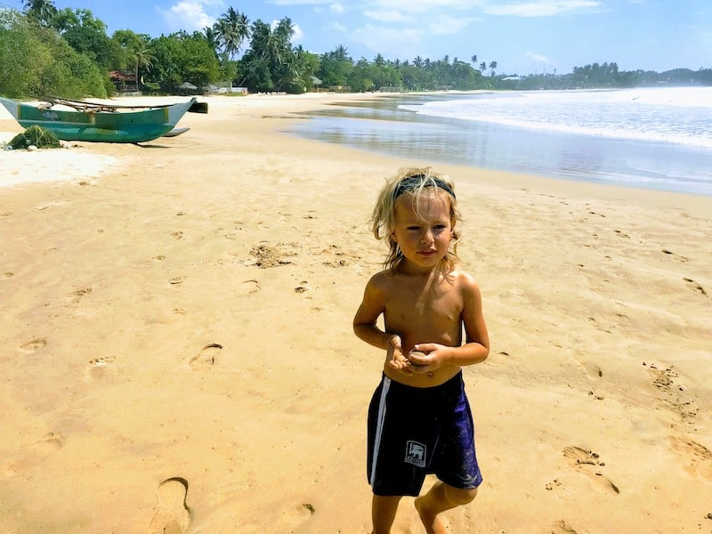 Dikwella beach Sri Lanka
