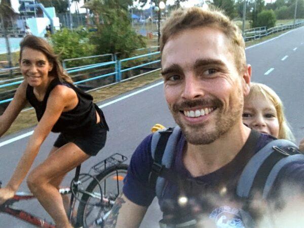 Biking in Mersing