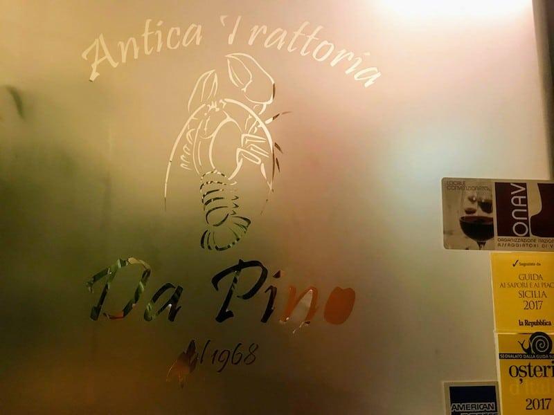 Da Pino restaurant Marsala